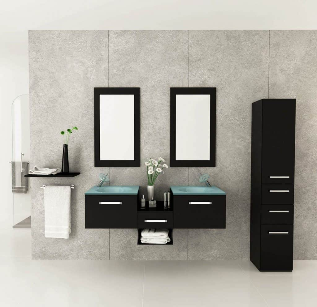 200 bathroom ideas remodel decor pictures for Contemporary bathroom cabinet designs