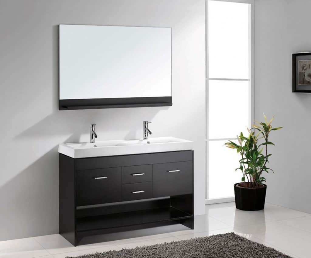 Bathroom Vanities Two Sinks Mapo House And Cafeteria. Bathroom ...